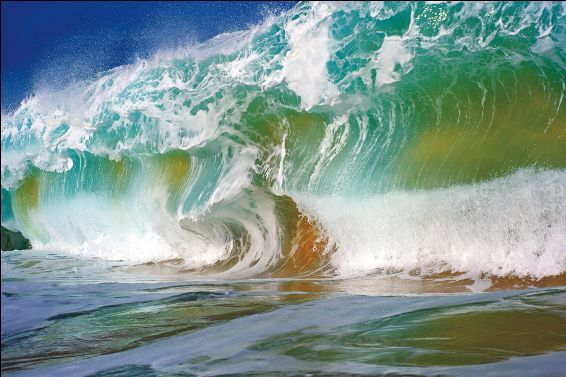 """Bulldozer"" Wave From: Nature's Best Photography ""A Large"