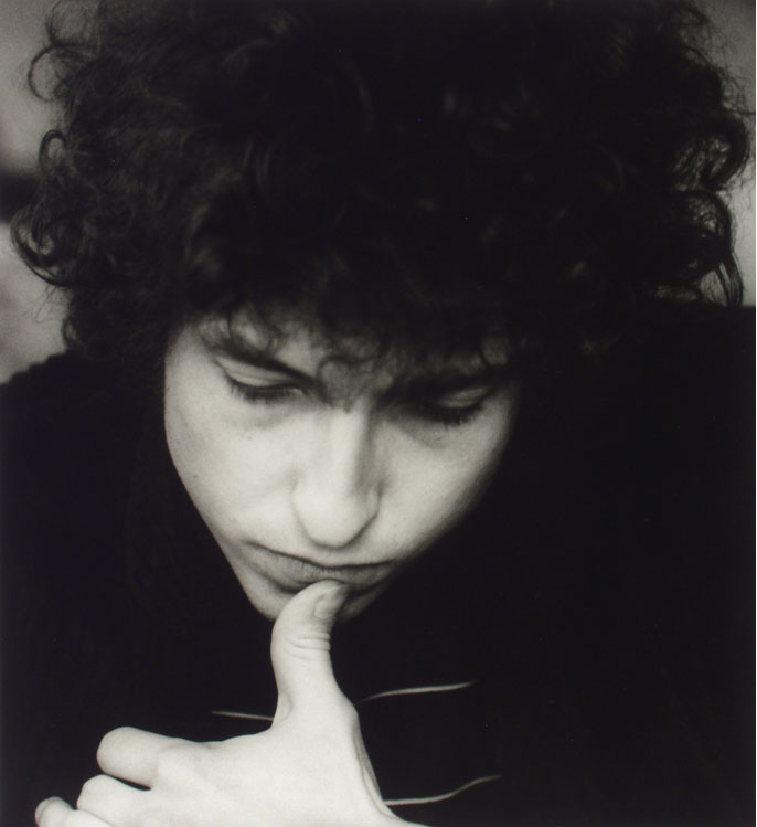 Bob Dylan by Lisa Law, 1966