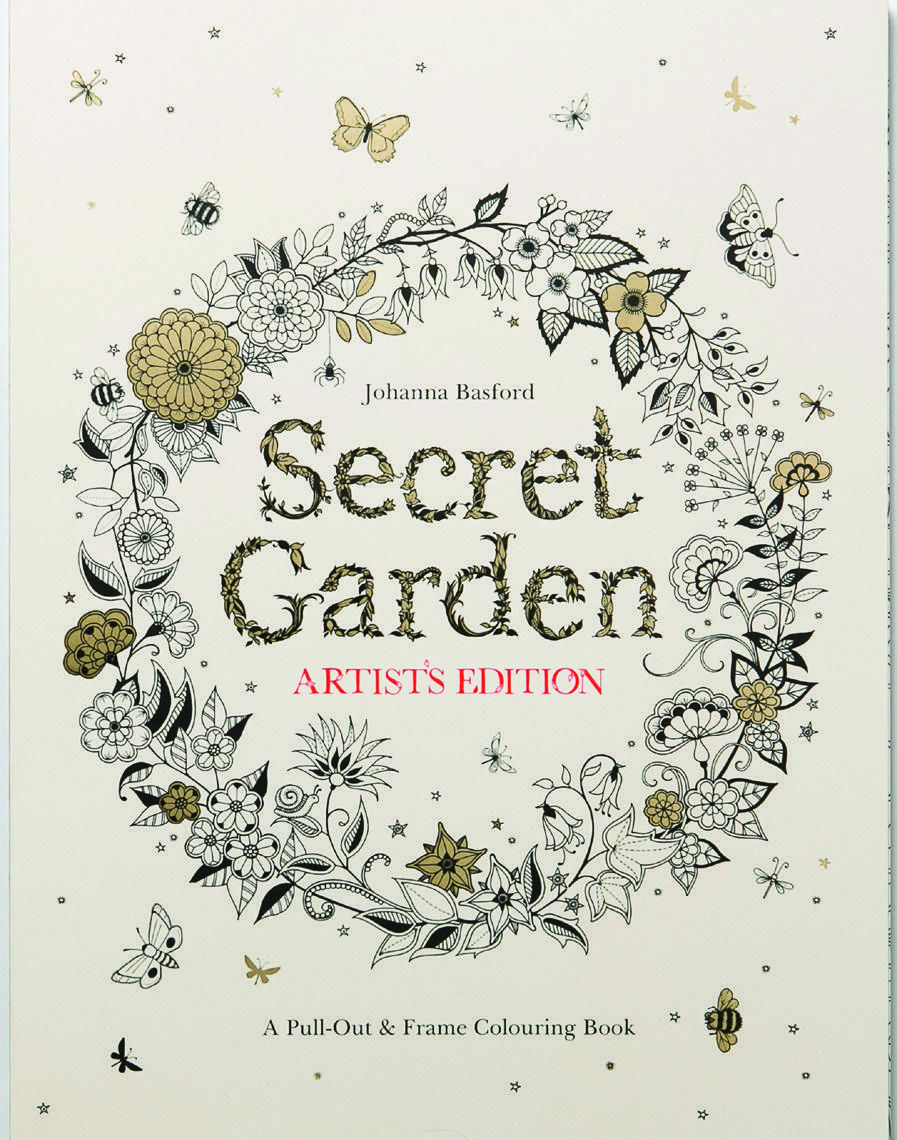 If You Loved Secret Garden By Johanna Basford Laurence King Publishing
