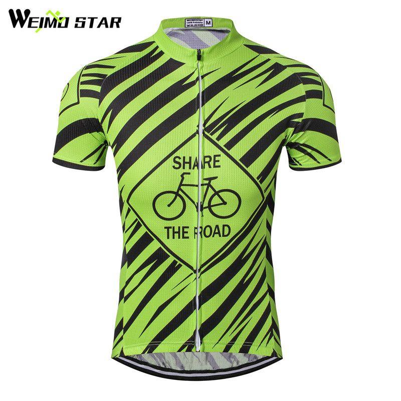 Weimostar Brand Men S Short Sleeve Cycling Jersey Top Mtb Bike