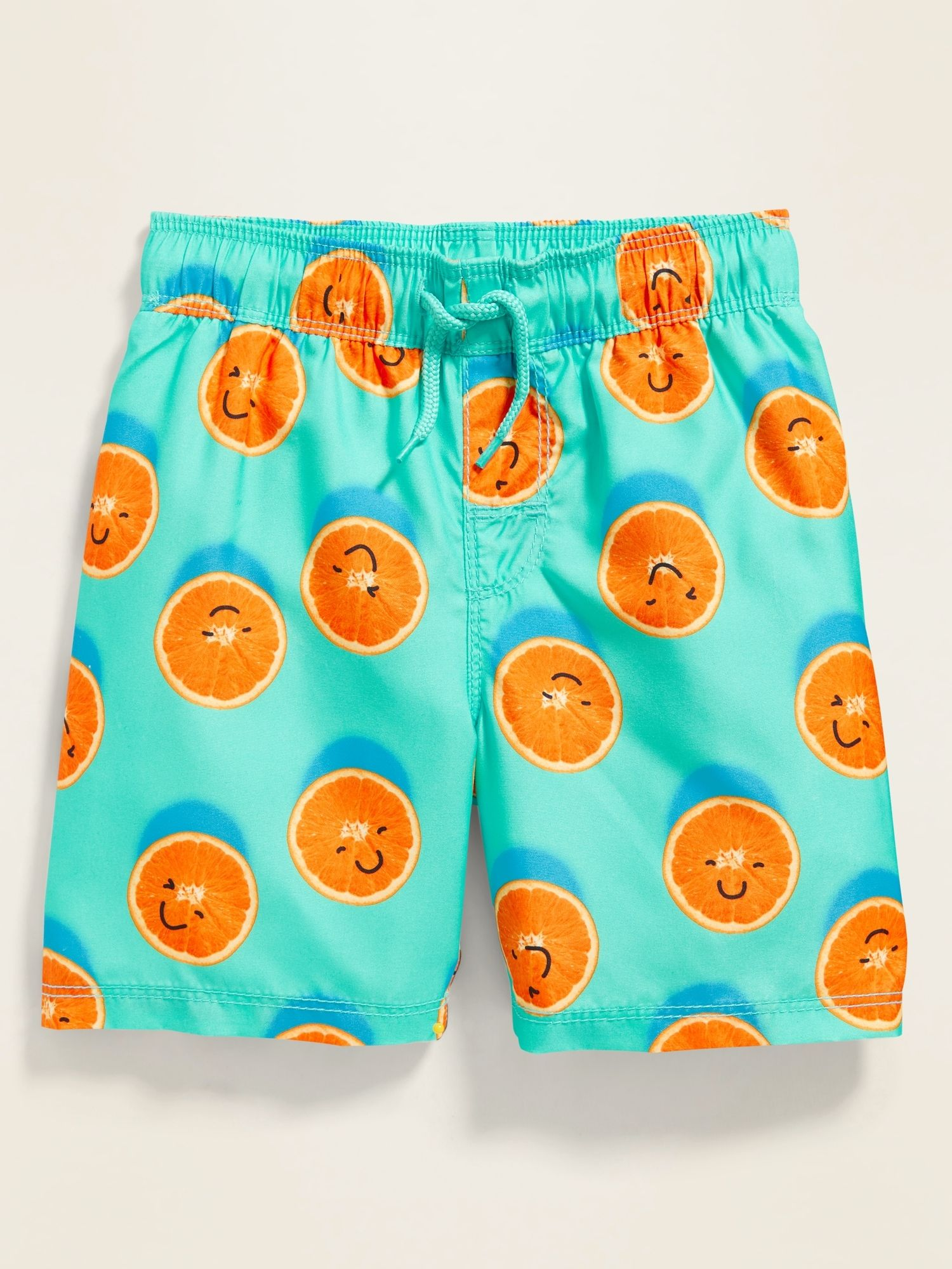 Boys Kids Cute Retro Love Flamingo Quick Dry Beach Swim Trunk Adjustable Waist Swimsuit Beach Shorts with Mesh Lining