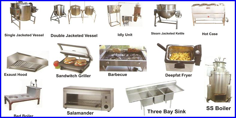 Cooking Unit Commercial Kitchen Equipment Food Processing