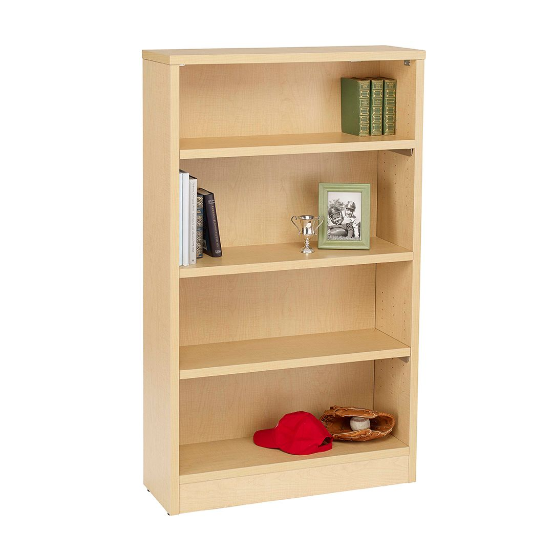 Simple Solid Sensible Sure To Become Your Favorite Bookcase 1 Or 2 Sided Unit Mobile Option With Casters Can Double As Room Divider