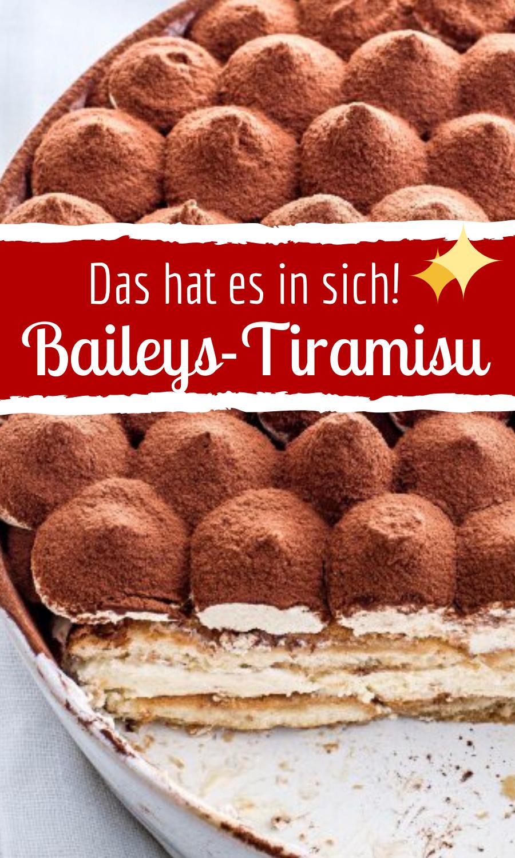 Berauschendes Baileys-Tiramisu #kuchenkekse