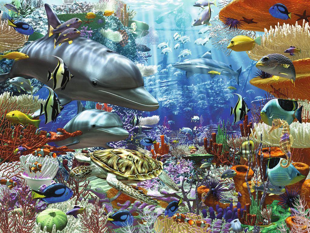 Leben Unter Wasser Erwachsenenpuzzle Puzzles Shop Leben Unter Wasser Ravensburger Puzzle Puzzles Puzzle