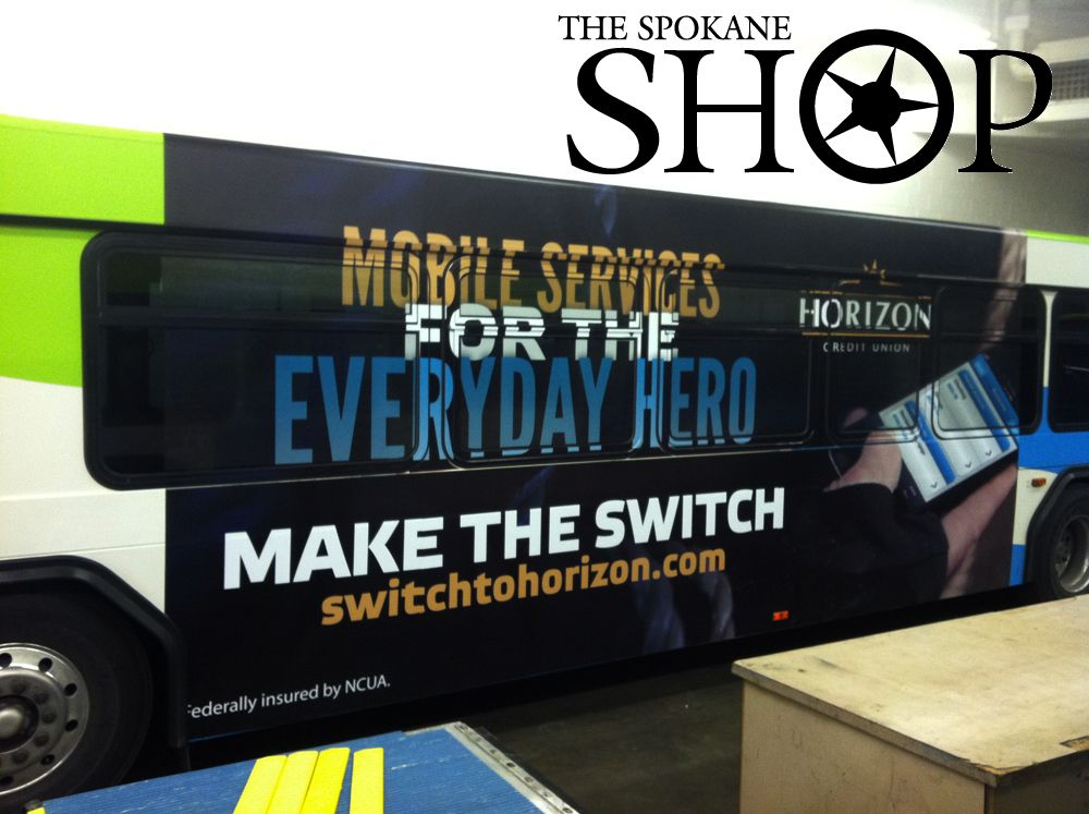 The Spokane Shop Decal Decals Graphics Vehicle Wrap