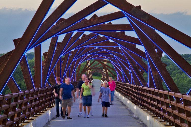 High Trestle Trail Bridge Rdg Planning Design Trestle Bridge