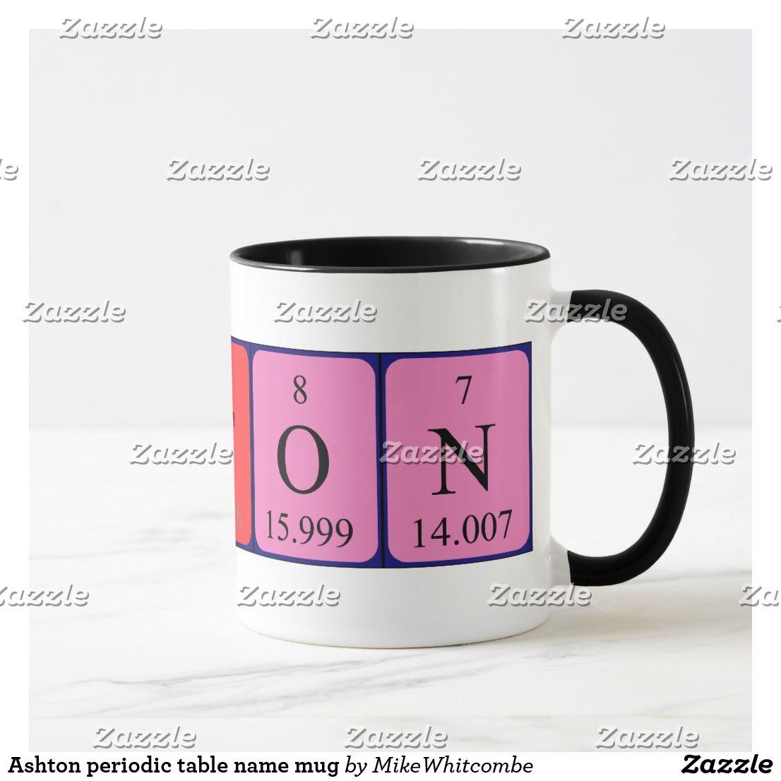 Periodic table name mug ashton periodic table name mug urtaz Image collections