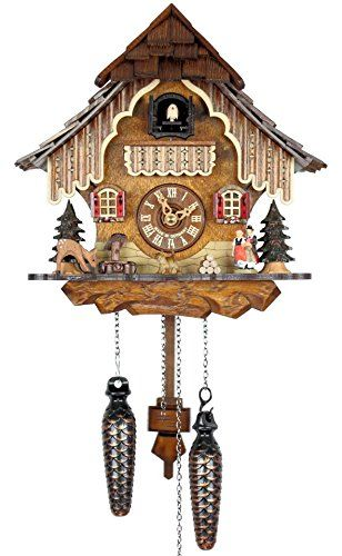 Adolf Herr Quartz Cuckoo Clock   Black Forest House * Continue To The  Product At The