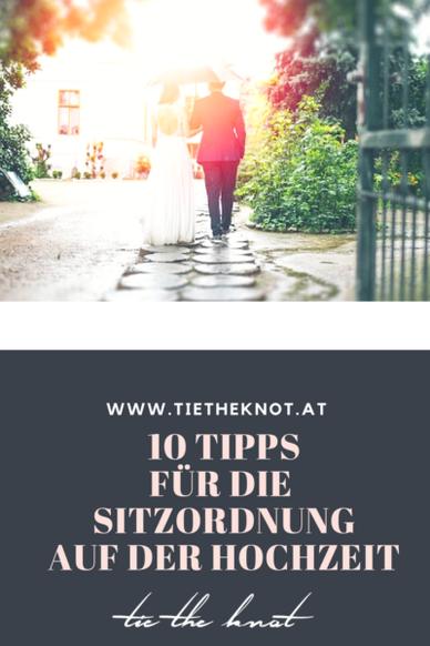 10 Tipps für die Sitzordnung auf der Hochzeit | Sitzordnung