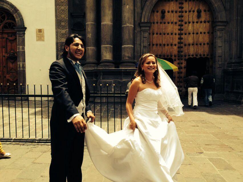 Casamento e lua de mel no Equador