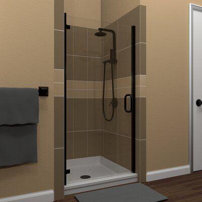 Arizona Shower Door Mp Swinging 28 X 67 Hinged Semi Frameless