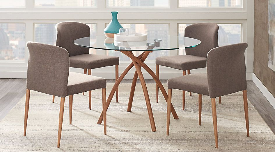 Sabre Springs Pecan 5 Pc Dining Set 39999Find Affordable Unique Bargain Dining Room Sets Inspiration
