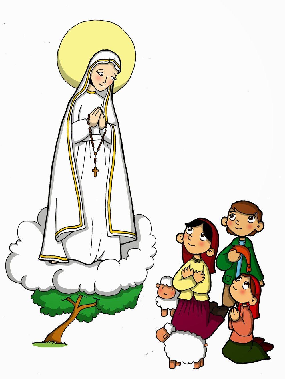 Nuestra Senora De Fatima Con Imagenes Catequesis Nuestra