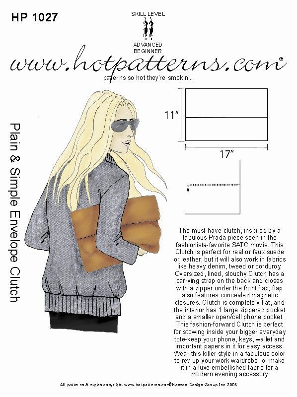 HotPatterns - HP 1027 Handbag Heaven Plain