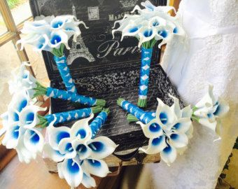 d59aed1637 malibu blue bouquet – Etsy
