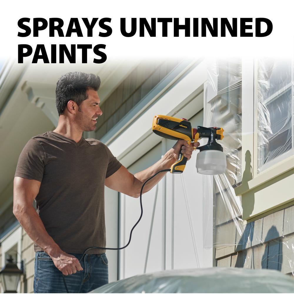 Wagner Flexio 3000 Hvlp Paint Sprayer 0529085 Hvlp Paint Sprayer Paint Sprayer Sprayers