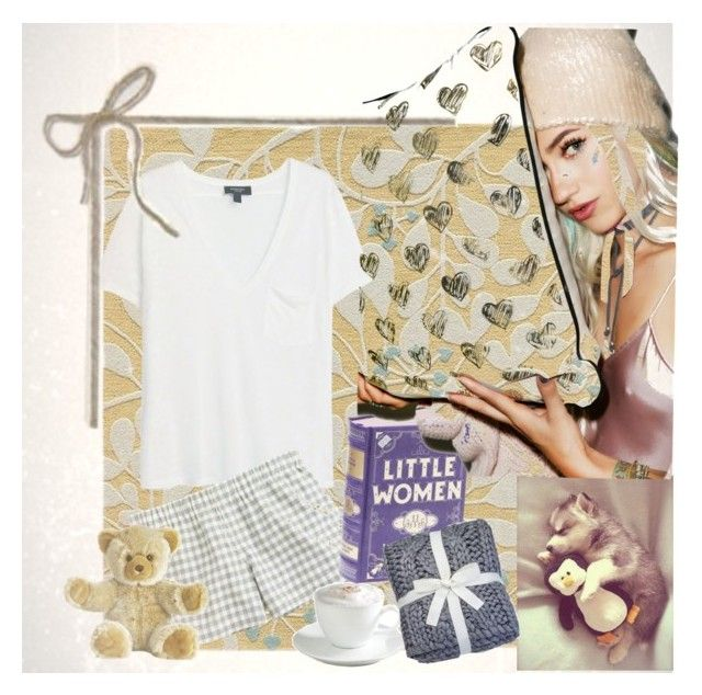 """""""Ur Heart"""" by bren-johnson ❤ liked on Polyvore featuring MANGO, J.Crew, Sur La Table, women's clothing, women's fashion, women, female, woman, misses and juniors"""