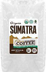 OFT Sumatra Coffee, Whole Bean, Fresh Roasted Coffee LLC (2 Lb._.)