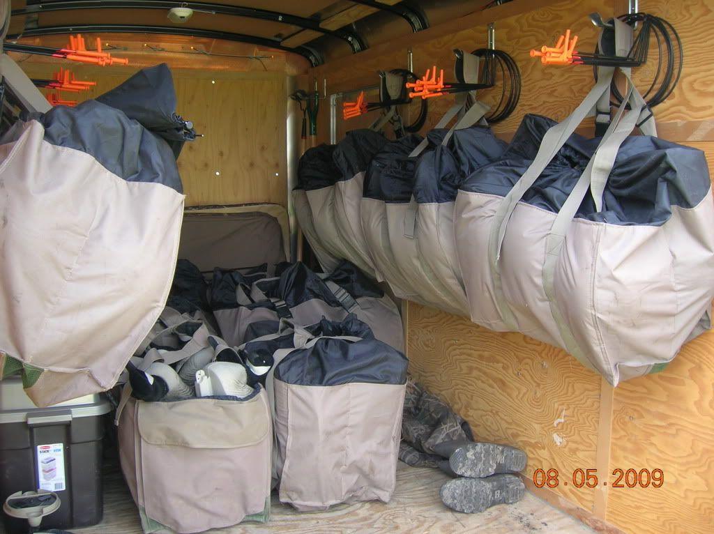 Decoy Bag Storage Hunting Trailer Waterfowl Hunting