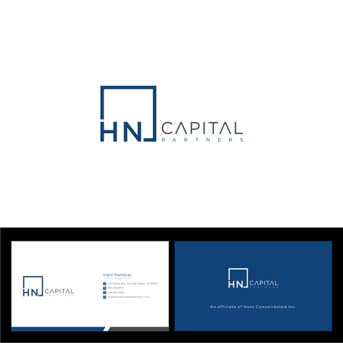 Hn Or Hncp Or Hn Capital Logo Card For An Young Innovative Investment Firm Investment Management Firm Finance Ser Investment Firms Logos Cards Investing