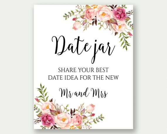 It is an image of Wild Date Night Jar Printable