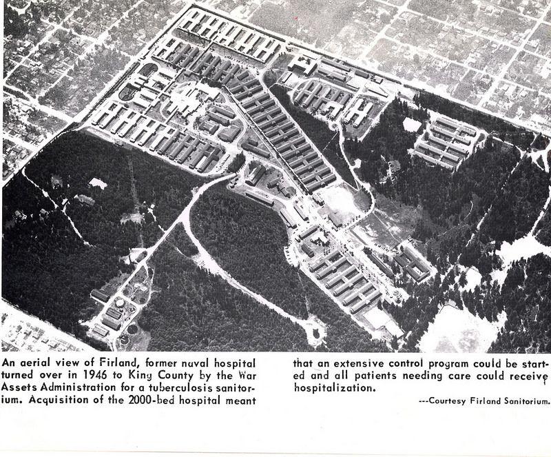 Firland sanitorium circa 1940 seattle history