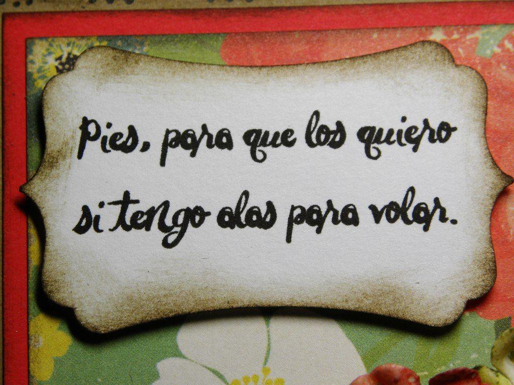 Frida Kahlo Quotes En Espanol. QuotesGram | imágenes y frases ...
