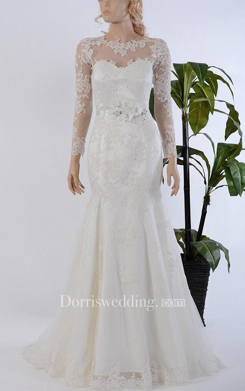 Wedding dress beaded back  Valentines AdoreWe Dorris Wedding  Dorris Wedding Mermaid Long