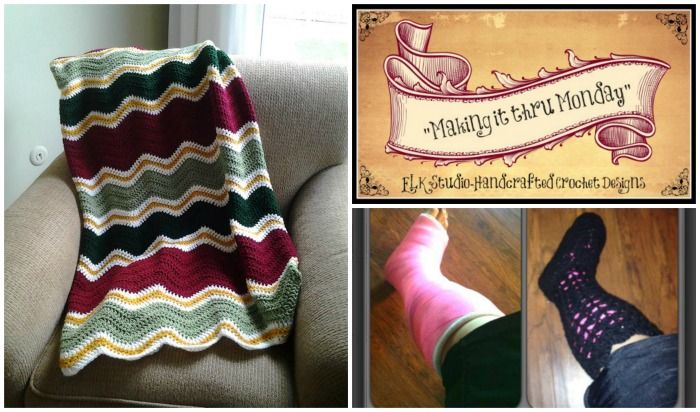 Making it thru Monday Crochet Review #73 by ELK Studio #crochet