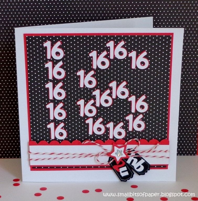 My Craft Spot Dt Post By Kate Hb2u 16th Birthday Card
