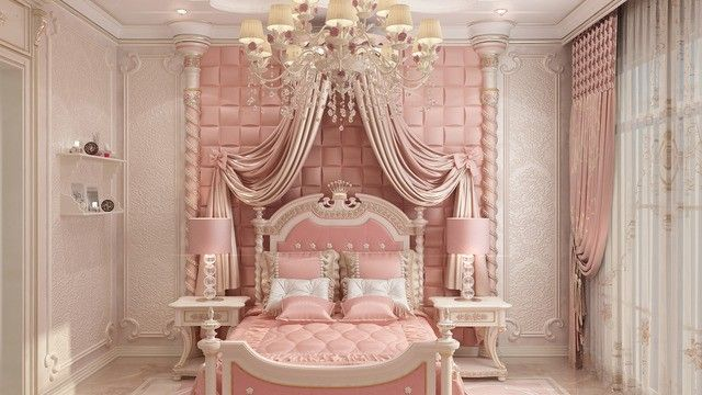 Girls Bedroom Decorating Ideas | Luxurious bedrooms, Luxury ...