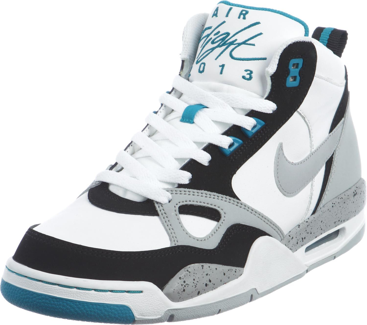 online store 3d2a9 6b4b7 Nike flights   Nike Flight  13 shoes white grey turquoise