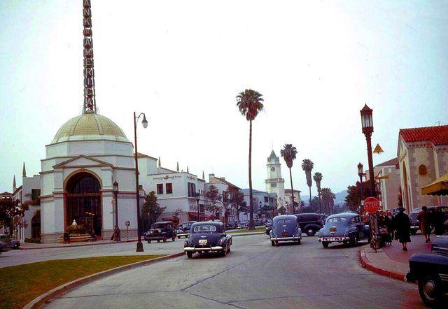 Westwood Village, Los Angeles 1941
