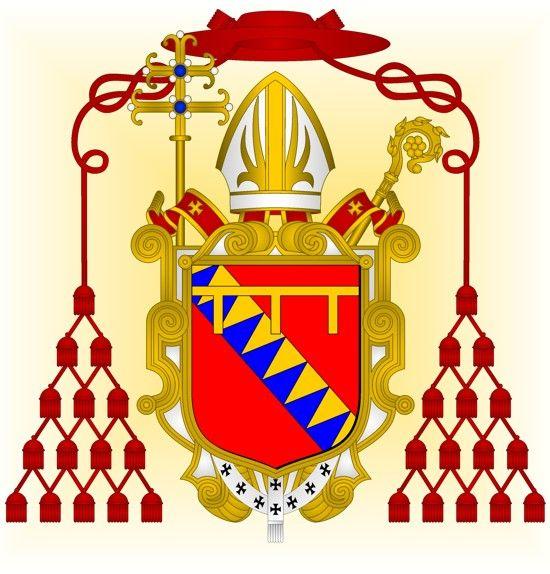Cardinal Ronaldo Piscicello (1415/1416-1457).  Created cardinal by Pope Callixtus III on 12/17/1456.
