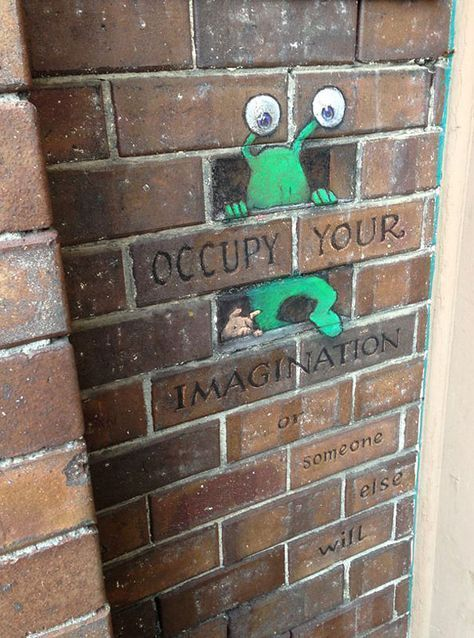 NEW Chalk-Drawn Adventures of Sluggo by David Zinn