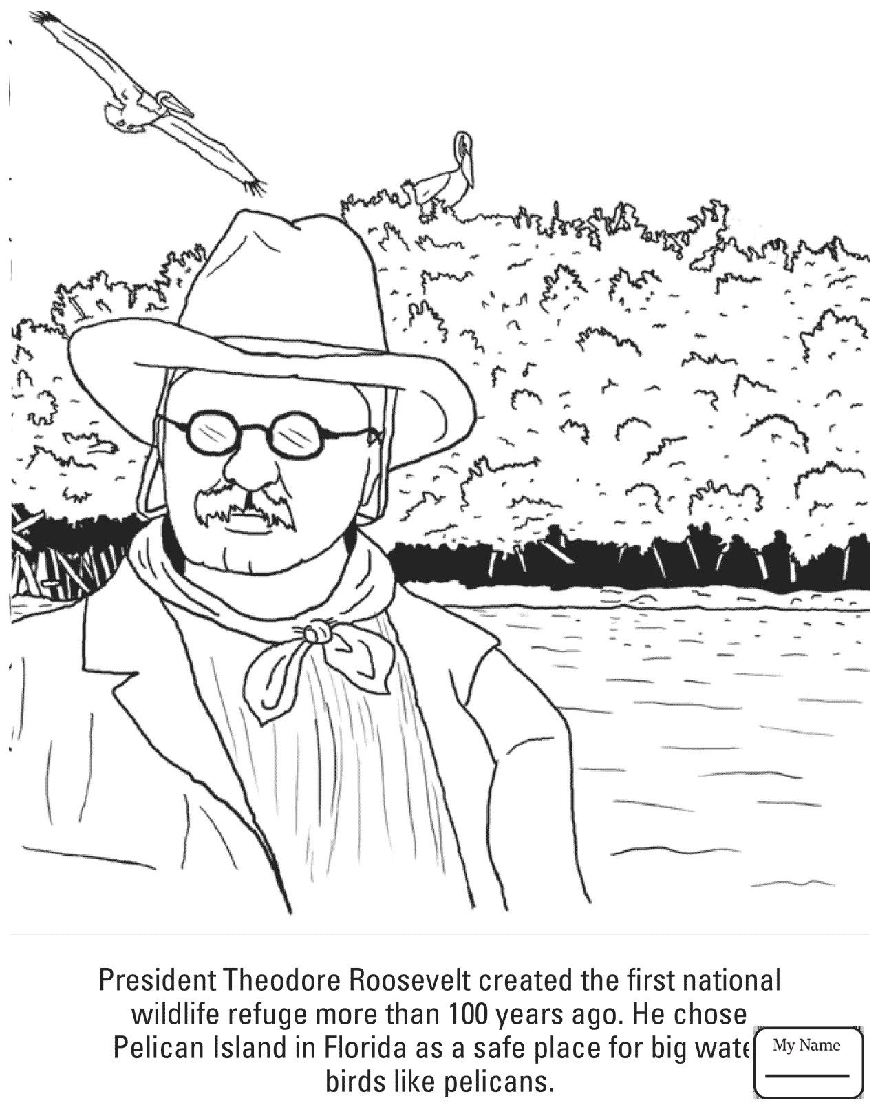 Teddy Roosevelt Coloring Pages Download Coloring Pages Coloring For Kids Teddy Roosevelt