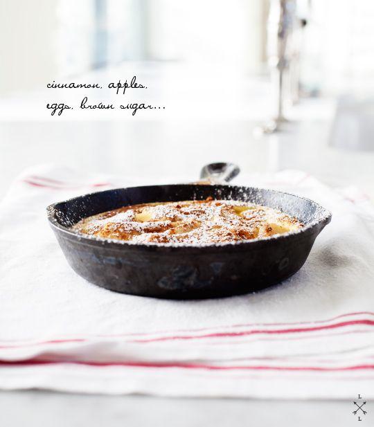 æble pancake