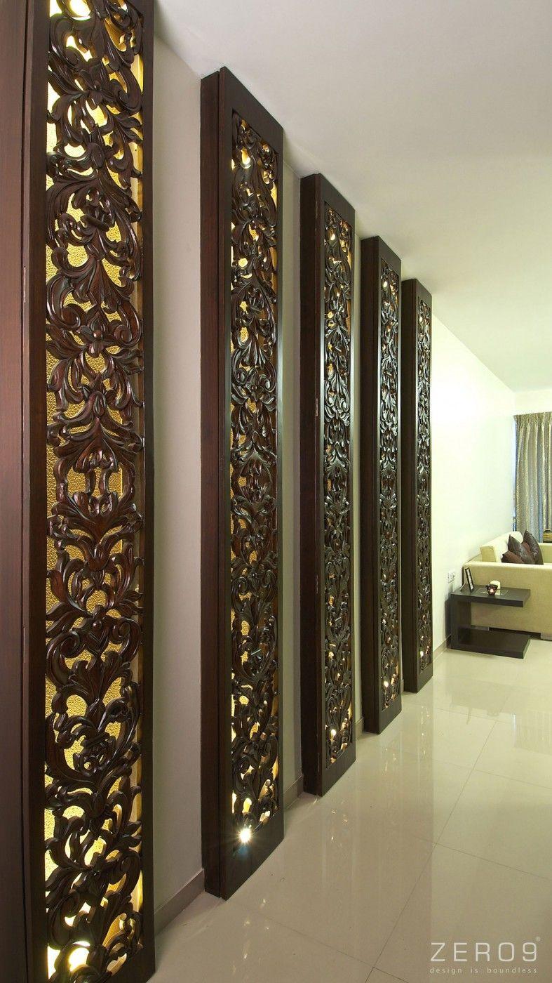Apartment In Mumbai By Zero9 Ceiling Design Modern Cei