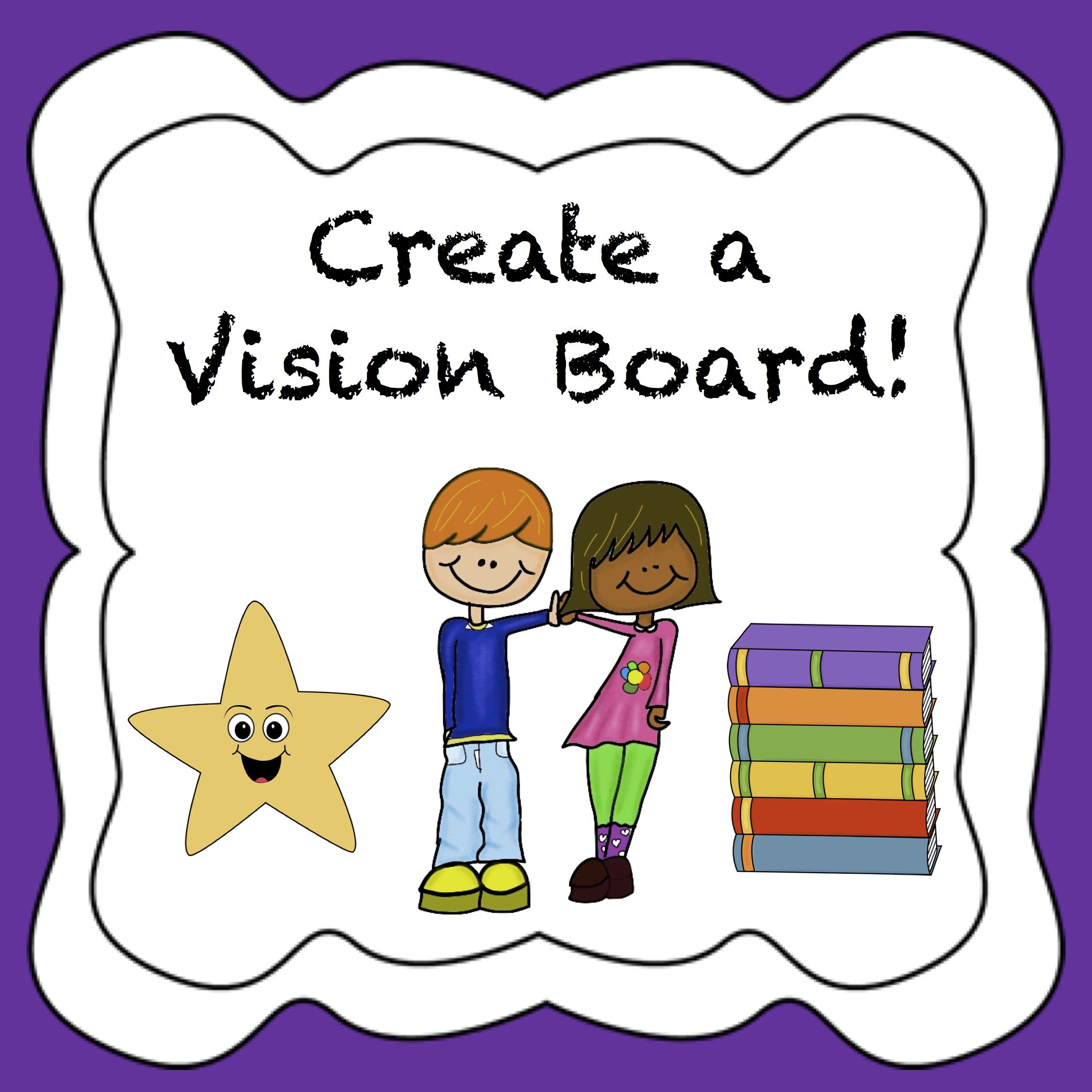 Vision Board Activity For The New Year
