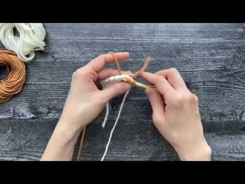 Tunisian knit stitch Tutorial - KnitCraft #crochet #tunisian #knit #knitting