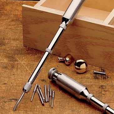 Classic Push Drill Yankee Push Drills Yankee Style Push Drill Garrett Wade Woodworking Hand Tools Tools Drill