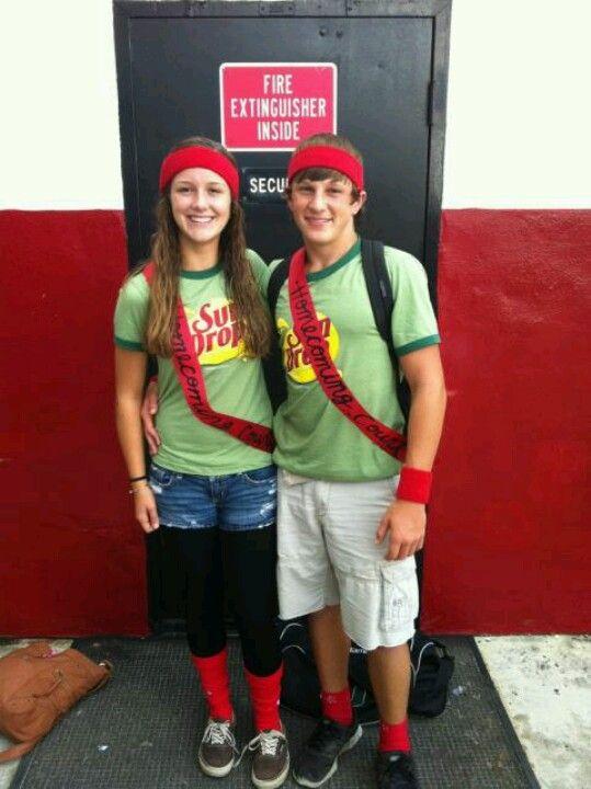 Cute couple idea for Halloween, Spirit Week, or themed