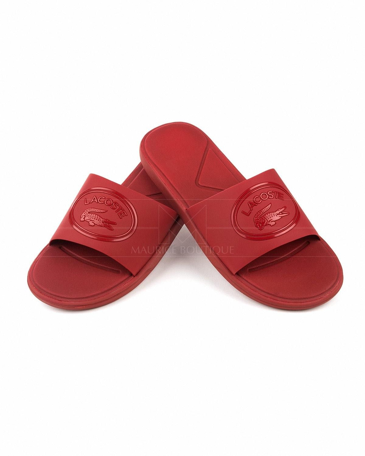 25821d84272cf0 Chanclas Lacoste L30 Slide - Rojas in 2019
