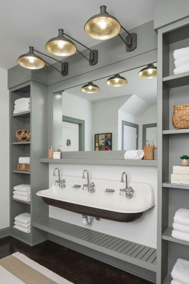 46 Paint Colors Farmhouse Bathroom Ideas | Bathroom ...