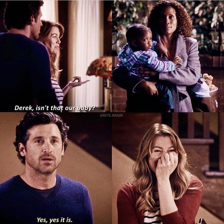 8.10. Such an adorable moment #greysanatomy