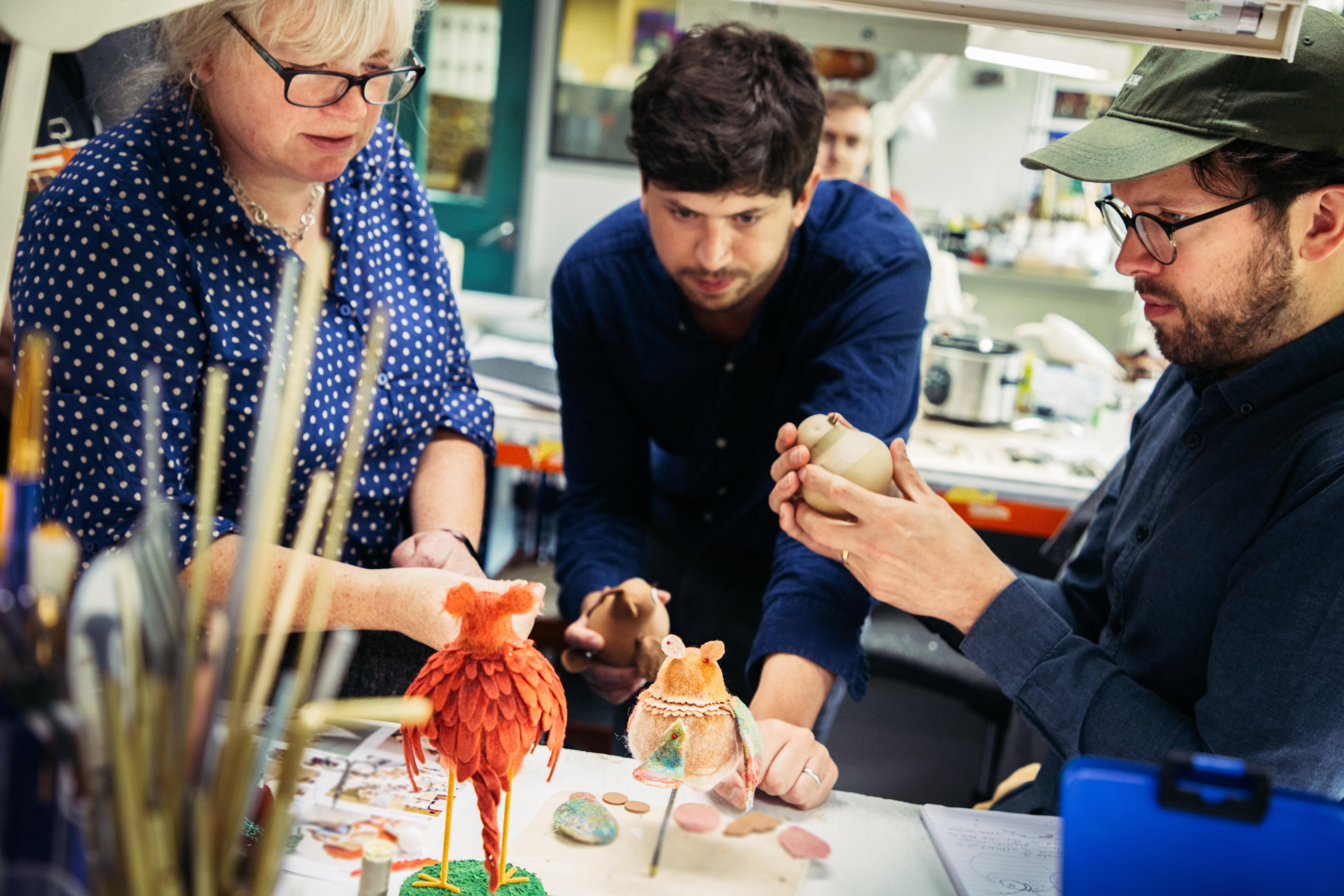 Hold the plasticine Aardman's new look for musical made