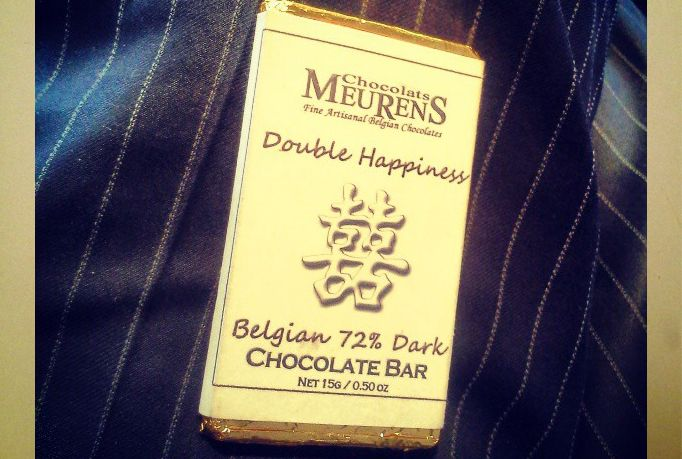 Double Happiness: send you two custom chocolate tablets for $5, on fiverr.com