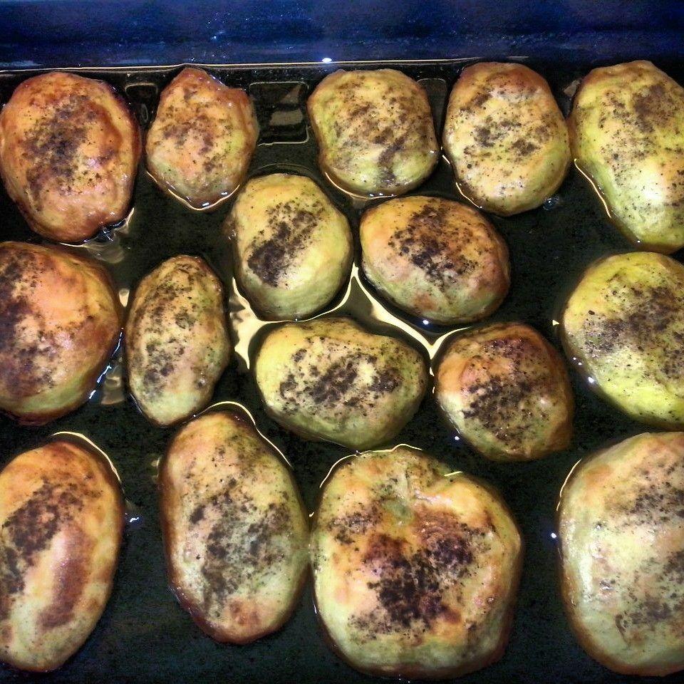 Patatas bocabajo