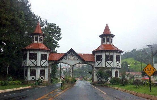 Portal De Aguas De Lindoia Sp Aguas De Lindoia Imagens